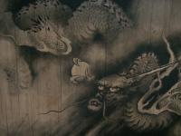 天井画の龍
